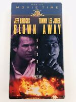 Blown Away (VHS, 1998, Movie Time) MGM Jeff Bridges Tommy Lee Jones