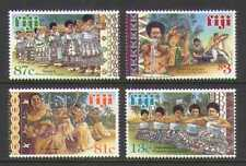 Fiji 1999 Balli/Tribale 4v Set (n20619)