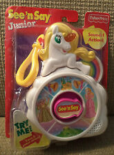 FISHER PRICE SEE N SAY JUNIOR UNICORN SOUNDS & ACTION *NEW*