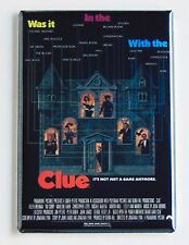 Clue FRIDGE MAGNET (2 x 3 inches) movie poster tim curry board game