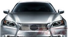 FITS LEXUS GS350 2013 2014 STAINLESS STEEL CHROME BILLET GRILLE TOP ONLY