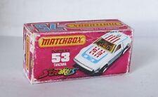 Repro Box Matchbox Superfast Nr.53 Tanzara Streaker