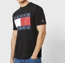 Tommy Hilfiger Flag Logo Crew Neck T-Shirt