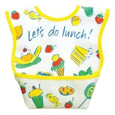 Dex Baby Dura Bib - Stage 1 - Small 3-12 Months (Let's Do Lunch)