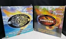 CBS TV Show Survivor Mattel Board Game Outwit Outplay Outlast Edition 1 & 2