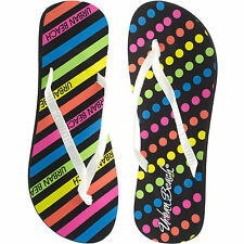 LADIES URBAN BEACH FLIP FLOPS SIZES 3-8 STYLE SUNSET FW 580 FIRST CLASS POST