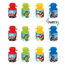 Avengers Party Supplies MINI BUBBLES 18ML Pack Of 12