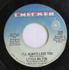 Soul 45 Little Milton - I'Ll Always Love You / Let'S Get Together On Checker