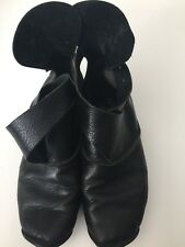 Trippen Black Women Shoes Size 39