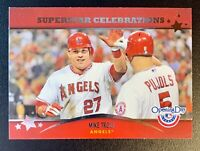 MIKE TROUT 2013 Topps Opening Day Superstar Celebrations Insert #SC-23 LA ANGELS