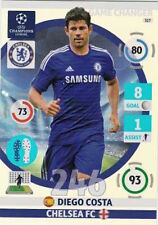 Adrenalyn XL Champions League 2014/15 Trading Card. Game Changer Diego Costa