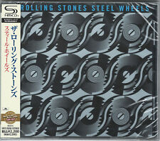 ROLLING STONES-STEEL WHEELS-JAPAN SHM-CD E50