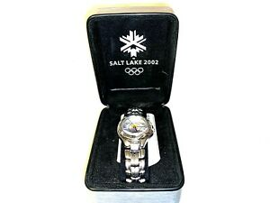 2002 Salt Lake City Olympics Watch Brand New in Box LORUS Nice Collectible
