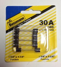 Bussmann 30A Glass Fuse Pack