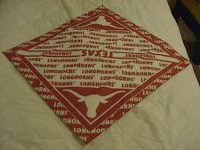 SWEET Texas Longhorns Adult One Size Orange & White Cotton Dew Rag, NEW&NICE!!