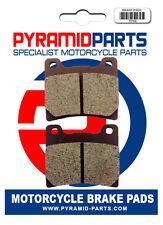 Rear brake pads for Yamaha XVZ12 1985