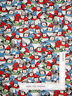Christmas Just Chillin Penguin Hat Scarf Allover Cotton Fabric QT - By The Yard