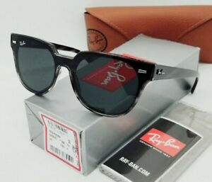 "RAY BAN striped gray havana/gray ""BLAZE METEOR"" RB4368N 643087 sunglasses! NEW!"