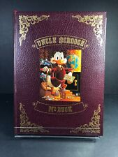 Uncle Scrooge Mc Duck Hard Cover + Lithography Print Signed By Carl Barks