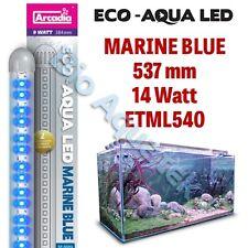 Arcadia Eco Aqua LED Aquarium Lamp / Light Strip - Marine Blue 537mm 14w ETML540