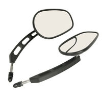 Rear View Mirrors Fit For Harley 1200L 883L FLHTC Classic Road King Dyna FatBoy