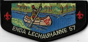 OA Enda Lechauhanne Lodge 57  Flap BLK Bdr. Greater Pittsburgh, PA [MX-13792]