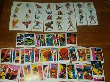 COLECCION CROMOS SUPERHEROES, 210 CROMOS, 1980 ,MARVEL COMICS,