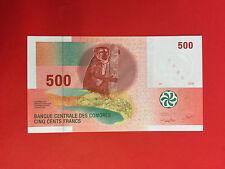 500 FRANCS COMORES 2006 BILLET en ETAT - NEUF / UNC -