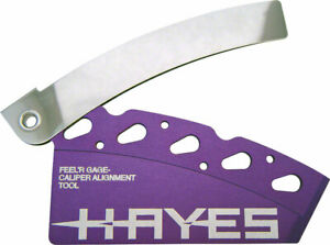 Hayes Feel'r Gauge Disc Brake Pad and Rotor Alignment Tool and Pad Spreader