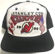 super popular 6c398 6eeb5 Vintage 1995 NHL Stanley Cup Champions New Jersey Devils Starter Hat NWOT