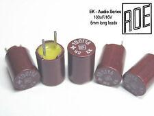 100uF - 16V  ROE EK Series Hi-End Audio Grade Capacitors x 50 Pieces