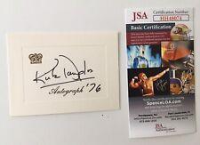 Kirk Douglas Signed Autographed 3x4 Card JSA Certified