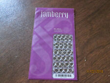Jamberry Flapper 1K56 Heat Activated Nail Wrap Full Sheet