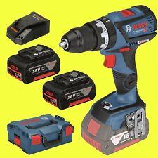 BOSCH Trapano a batteria GSB 18v-60 C 2x 3,0 Ah + L-BOXX - Avvitatore a batteria