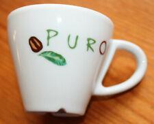 PURO expresso coffe cup x 2  - white ceramic - double wall
