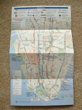 World Trade Center brochure subway map 9/15/02 New York City
