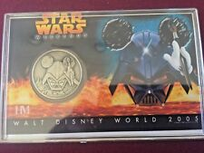 Disney Star Wars Weekends 2005 Limited Edition Nickel Silver Coin