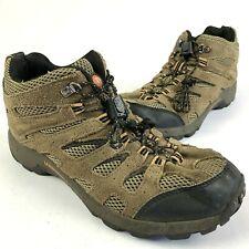 Merrell Moab Ventilator Mid Walnut Boots Shoes Kids Junior Size 6 J95437