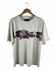 VINTAGE Redhead T Shirt Mens Size XL White Short Sleeve Logo USA Hot Rod Cars