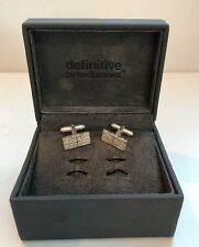 Definitive By Fred Bennett Silver Cufflinks