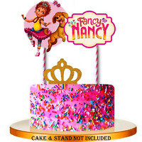 Pleasant Disney Fancy Nancy Cake Toppers Set Of 13 Has 10 Figures Princess Funny Birthday Cards Online Barepcheapnameinfo