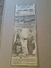 1923 The Gold Diggers Movie Newspaper Ad Hope Hampton Warner Bros