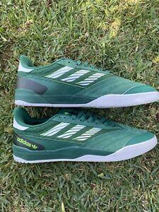Adidas Skateboarding Copa Nationale Collegiate Green/White/Signal Green Size 11