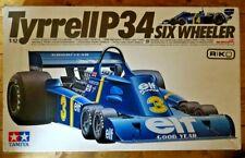 Tamiya Tyrrell P34 Six Wheeler F1 1976 Scheckter/Depailler Model Kit 1/12  boxed