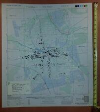 1944 US Army Map City Plan of Malasiqui Pangasinan Luzon Philippines 1:5,000