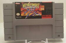 Super Nintendo SNES - Metal Combat - Falcon's Revenge