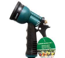 8 in 1 Pattern Garden Yard Water Pressure Hose Spray Jet Shower Nozzle