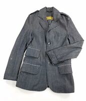 Ervin Geoffrey Mens Denim Jacket Blazer Suit sz M