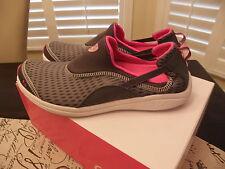 Women's Ryka Swift Sneaker GREY PINK 9 M NIB WATER DRAINAGE SYSTEM