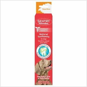 SENTRY Petrodex Toothpaste Peanut Flavour for Dogs Dental Care